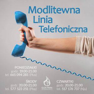 Modlitewna linia telefoniczna (poniedziałki) - 665-094-281